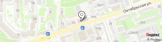Всероссийское общество инвалидов на карте Дзержинска