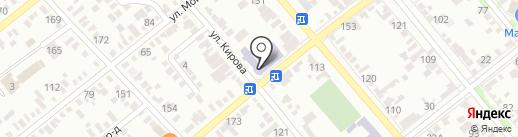 Средняя общеобразовательная школа №9 на карте Георгиевска