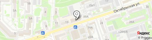 SP на карте Дзержинска