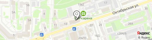 Сантехлюкс на карте Дзержинска