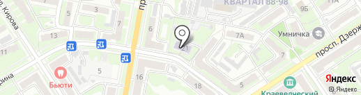 Детский сад №56 на карте Дзержинска