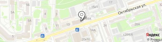 Магазин сантехники на карте Дзержинска