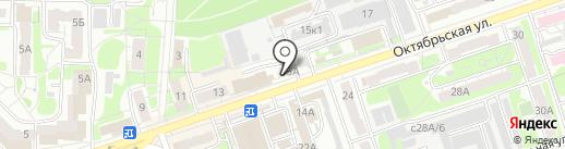 Артель Гранит на карте Дзержинска