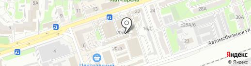 Ателье по ремонту одежды на карте Дзержинска