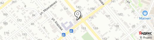 Шпулька на карте Георгиевска
