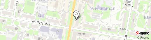 КанцПарк на карте Дзержинска