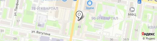 Павловская курочка на карте Дзержинска