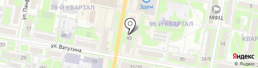 Ровесник на карте Дзержинска