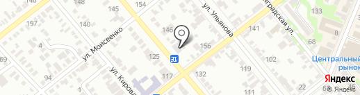 Магазин мужской кожаной обуви на карте Георгиевска