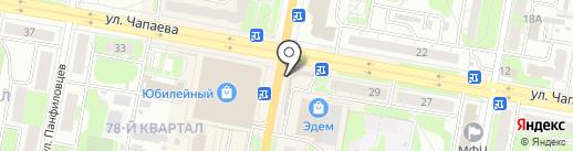 Салон сотовой связи на карте Дзержинска