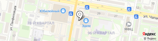 Деньги 003 на карте Дзержинска