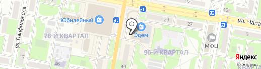 Овощной привоз на карте Дзержинска