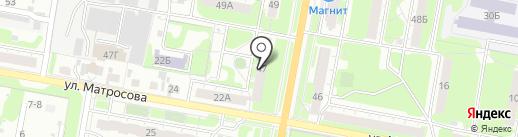 Низкие цены на карте Дзержинска