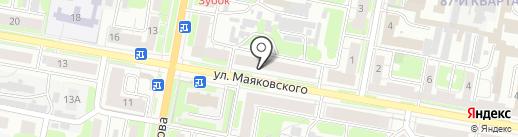 Отдел военного комиссариата Нижегородской области по г. Дзержинску и Володарскому району на карте Дзержинска