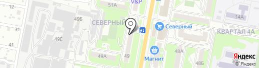 Подсолнух на карте Дзержинска