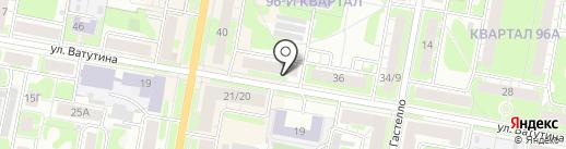 Re-Up на карте Дзержинска