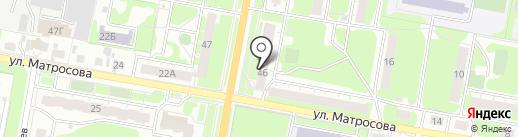 Кружевной флирт на карте Дзержинска