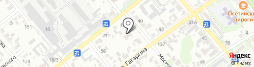 Детский сад №6, Солнышко на карте Георгиевска
