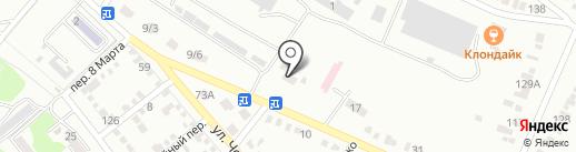 Южный ремонтный завод на карте Георгиевска