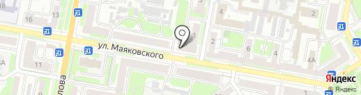 Кузинский на карте Дзержинска