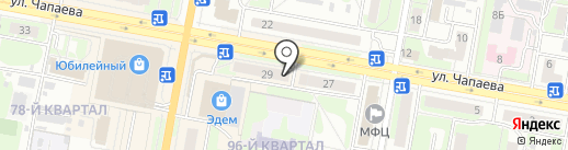 Пивоман на карте Дзержинска