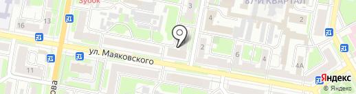 Консультация адвокатов №6 на карте Дзержинска