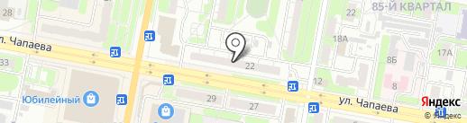 Эконом на карте Дзержинска