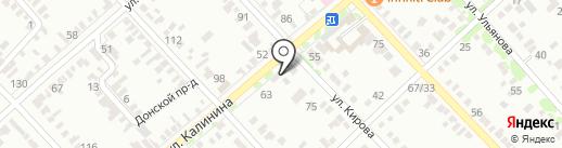 Бюро ритуальных услуг на карте Георгиевска
