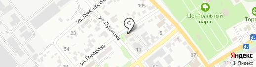 Георгиевские городские электрические сети на карте Георгиевска
