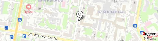 Управление МВД России по г. Дзержинску на карте Дзержинска