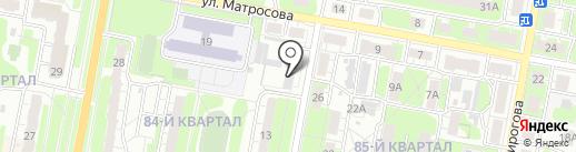 Комплексная лаборатория по мониторингу загрязнения окружающей среды на карте Дзержинска