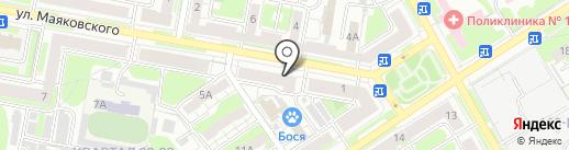 Магазин ивановского текстиля на карте Дзержинска
