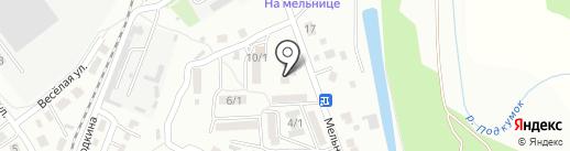 Пекарня на карте Георгиевска