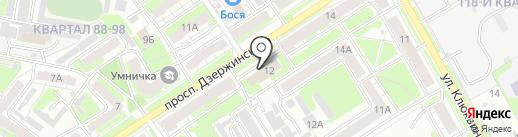 Инспекция административно-технического надзора Нижегородской области на карте Дзержинска
