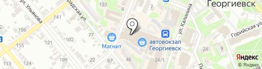 Студия фотопечати на карте Георгиевска