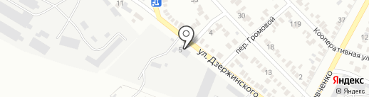 Ставрополь-Терминал на карте Георгиевска