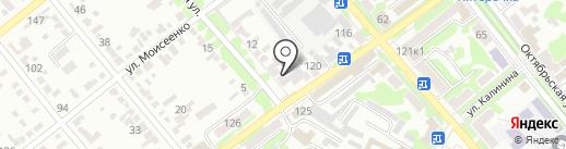 Адвокат Луцан Ю.В. на карте Георгиевска