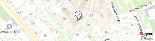 Пятёрочка на карте Георгиевска