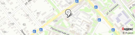 Банька на дровах на карте Георгиевска