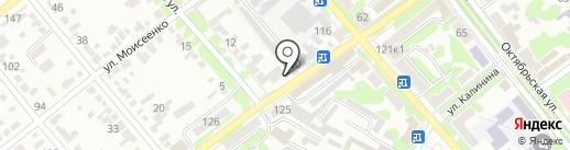Магазин сантехники на карте Георгиевска