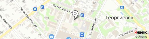 Нотариус Хаустова Л.А. на карте Георгиевска