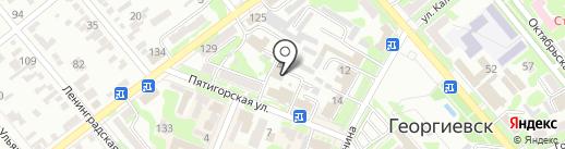 Отдел надзорной деятельности по г. Георгиевску и Георгиевскому району на карте Георгиевска
