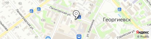 Адвокат Огарков В.В. на карте Георгиевска