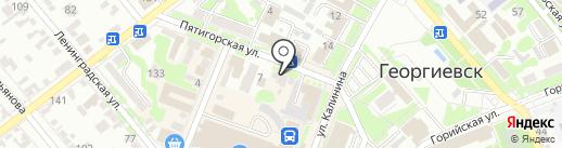 Статус на карте Георгиевска