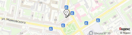 Аптека №163 на карте Дзержинска