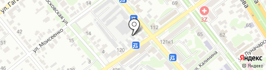 Bazel на карте Георгиевска