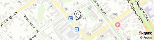 Экзотика на карте Георгиевска