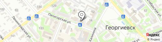 Комплексные системы безопасности на карте Георгиевска