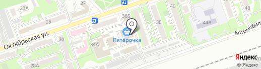 ТЕХНИКС на карте Дзержинска