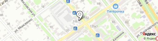 Полесье на карте Георгиевска